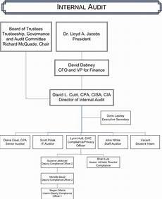 Which Organization Audits Charts Regularly Internal Audit Organizational Chart