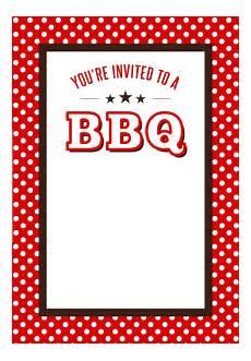 Bbq Birthday Invitations Bbq Party Invitation Free Printables Birthday Bbq Bbq