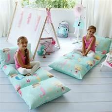 mermaid floor pillow bed cover butterflycraze