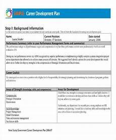 Career Development Goal Examples 9 Career Development Plan Templates Pdf Word Apple