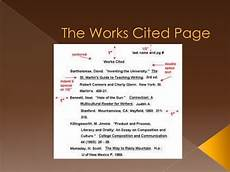 Is It Work Or Works Cited 113 Works Cited Page