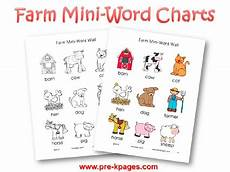 Animal Chart For Kindergarten Farm Theme Activities For Preschool