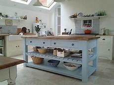 free standing island kitchen units handmade 4 drawer kitchen island unit freestanding