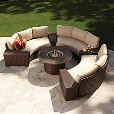 Circular Patio Sofa 3d Image by Modern Outdoor Wicker Circular Patio Sectional With