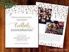 Invitation Flyer Template Invitations Event Template Save The Date Template Flyer