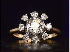 1940s Cartier Diamond Ring   Erie Basin