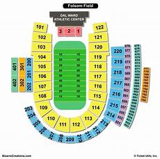 Seating Chart Folsom Field Folsom Field Seating Chart Seating Charts Amp Tickets