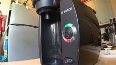 Red Light On Tassimo Coffee Machine Bosch Tassimo Red Light Fault Youtube