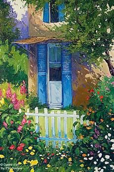 un petit coin de bonheur peinture sirot robert savignac quot un coin de paradis quot petit bonheur