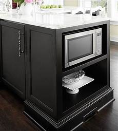 microwave in island in kitchen 31 smart kitchen islands with built in appliances digsdigs