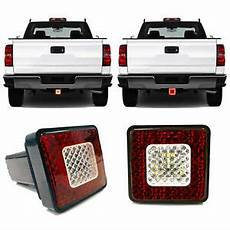 Led Reverse Light Hitch Cover Roane Led Tow Hitch Driving Amp Brake Lamp With Reverse