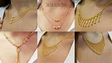 Chain Design Pattern In Gold For Ladies Latest Light Weight Design S Of Gold Chain Necklaces 2018