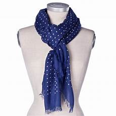 drakes scarf dotted
