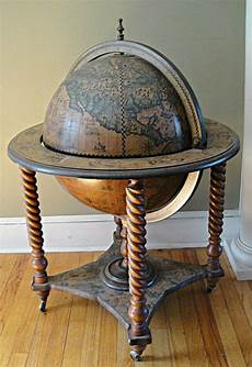 how to make a globe liquor cabinet woodworking projects