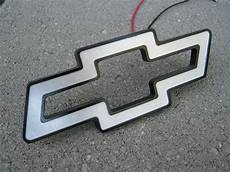 Lighted Chevy Bowtie Grille Emblem Jerry S Electronics Lighted Led Chevy Bowties
