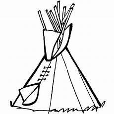 Malvorlagen Cowboy Und Indianer Kostenlose Malvorlage Cowboys Indianer Tipi Zum Ausmalen