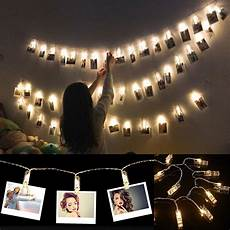 Fairy Lights Picture Frame Led Photo Clip Light Strings Are A Fun Alternative To