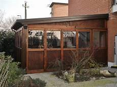 tettoia definizione tettoia in legno con chiusure a pannelli rimuovibili loc