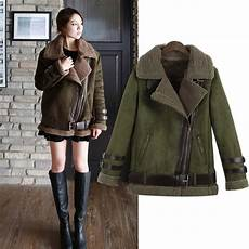 jackets and coats new 2016 winter shearling coats faux suede leather