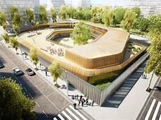 Alternative Building Design Architectural Rendering Architectural Visualization Of