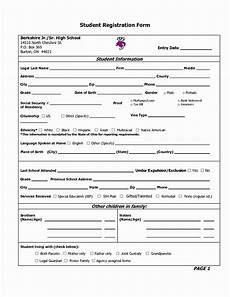 Student Enrollment Form Template Artwork Release Form Template Luxury Students Application