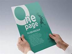 One Page Flyer Free One Page Flyer Mockup Creativebooster