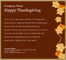 thanksgiving greeting cards for business template email cards benchmark email
