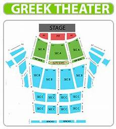 Greek Theater Chart Greek Theater Los Angeles Tickets At Checkout