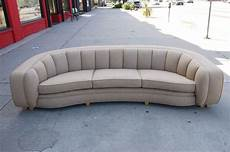 large curved back sofa from 1940s at 1stdibs
