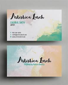 Artist Business Card Business Cards Design 26 Ready To Print Templates