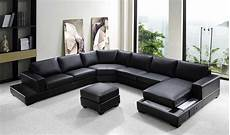 Black Sectional Sofa 3d Image by Vg Rz Modern Black Sectional Sofa Leather Sectionals