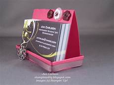 Home Made Buisness Cards Stampin With Jan Business Card Holder