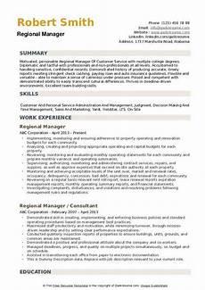 Regional Manager Resume Examples Regional Manager Resume Samples Qwikresume
