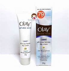 Olay Natural White All In One Fairness Day Cream Light 20g Olay Natural White Rich Light All In One Fairness Uv