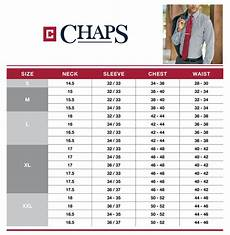 Ralph Dress Shirt Size Chart 29 Mens Chaps Ralph Med Dress Casual Shirt Blue