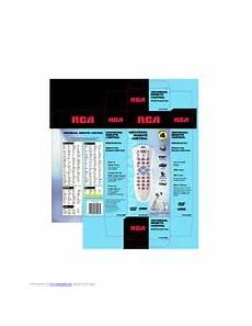 Rca Rcu410 Universal Remote Control Manuals