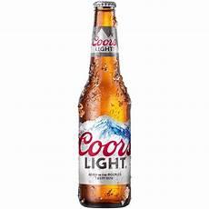 Coors Vs Coors Light Abv Coors Light American Light Lager 24 Pack 12 Fl Oz