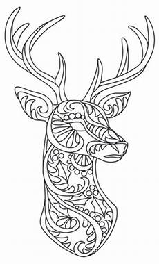 Animal Patterns To Trace Bohemian Reindeer Urban Threads Unique And Awesome
