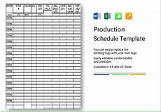 Production Schedule Excel Production Schedule Template Excel Spreadsheet