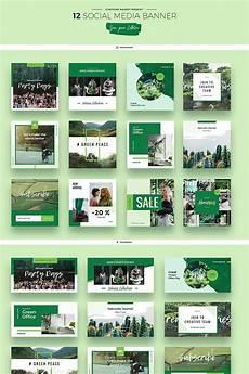 social media design templates green peace social media designs psd template 66956