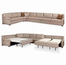 sectional comfort sleeper sofas by american leather