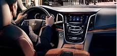 2019 Cadillac Escalade Interior by 2019 Escalade Suv Esv Features Cadillac