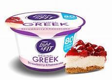 Dannon Light And Fit Strawberry Cheesecake Yogurt Nutrition Strawberry Cheesecake Greek Yogurt Light Amp Fit 174