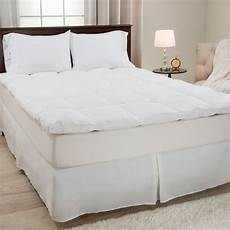lavish home king size 2 in h 100 duck feather mattress