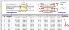 Loan Repayment Schedule Calculator Excel Top Amortization Schedule And Loan Repayment Excel