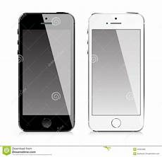 Iphone Styles Mobile Phone Similar To Iphone Style Stock Vector