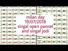 Milan Night Matka Panel Chart Milan Day 19 07 2018 Today Singal Open Pannel And
