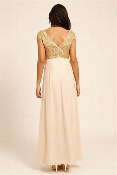 cap sleeve maxi dresses for gold heavily embellished cap sleeve maxi dress