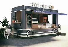 Outside Lighting For Mobile Food Truck Food Truck Design For Ottolina Cafe Shop It Looks Yami