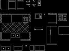Kitchen Accessory 2D DWG Block for AutoCAD ? Designs CAD